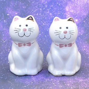 Vintage Kitty Cal Salt and Pepper Shakers